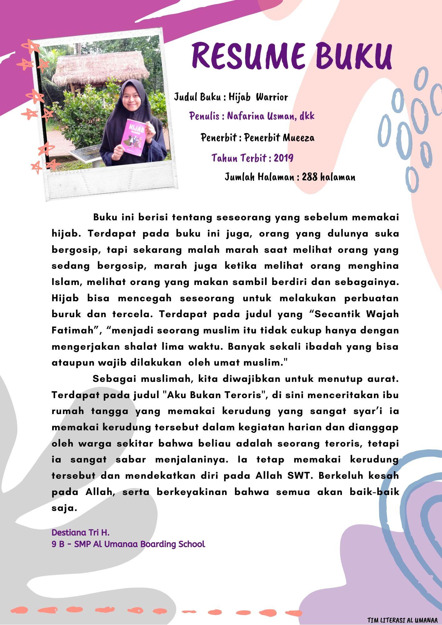 Resume Buku: Hijab Warrior