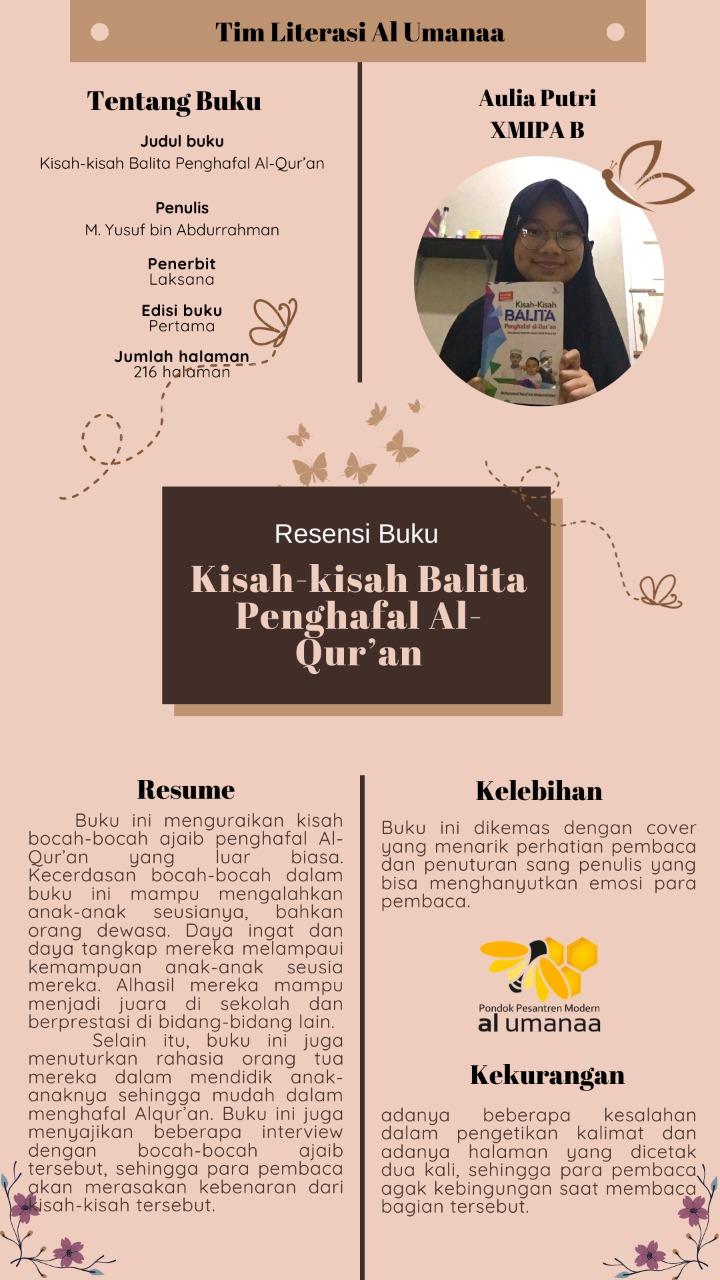 Resume: Kisah-Kisah Balita Penghafal Al Qur'an